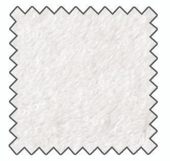 "Hockerbezug ""Medium"", Farbe weiß"