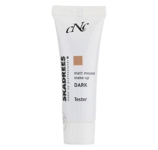 SKADREES Matt Mousse Make-up dark, 10 ml, Tester