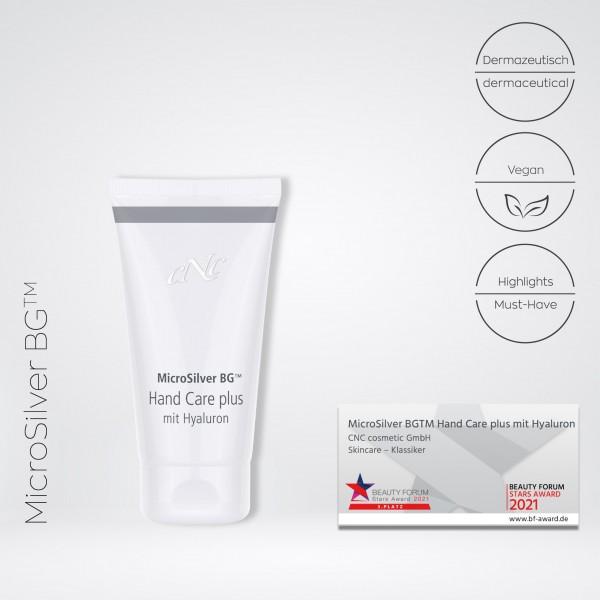 MicroSilver BG™ Hand Care plus mit Hyaluron, 50 ml