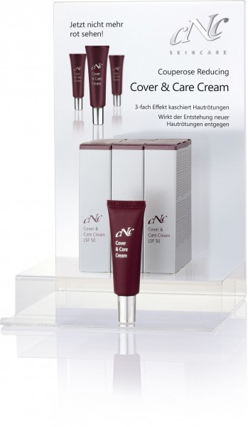 Displaybestückung Couperose Reducing Cover & Care Cream, SPF50, 30 ml