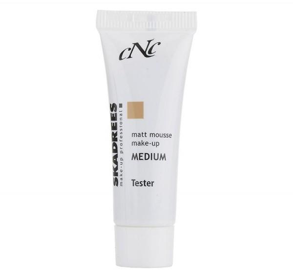SKADREES Matt Mousse Make-up medium, 10 ml, Tester