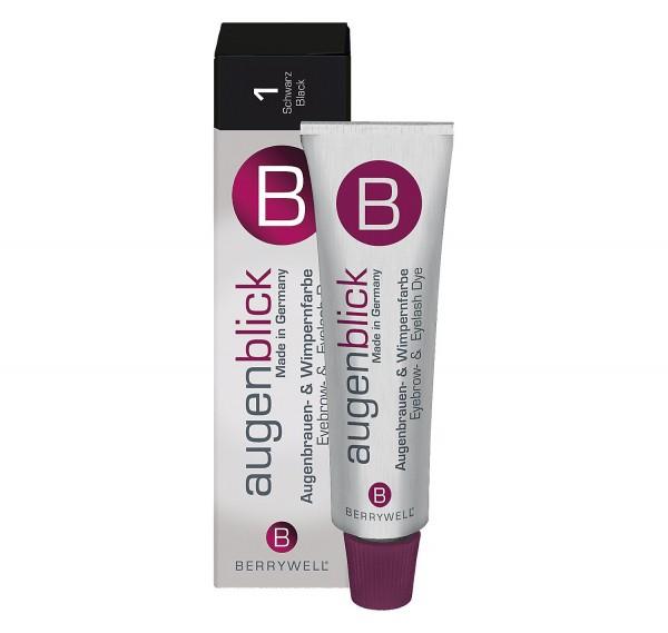 Berrywell® Wimpernfarbe #1 schwarz, 15 ml