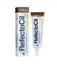 RefectoCil Sensitive Wimpernfarbe mittelbraun, 15 ml