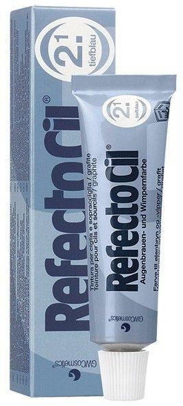 RefectoCil Wimpernfarbe #2.1 tiefblau, 15 ml