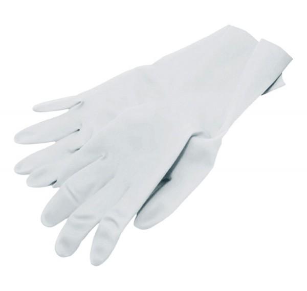 Handschuhe Latex, weiß, gepudert, Größe M, 100 Stk.
