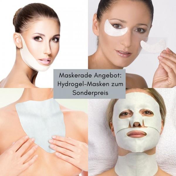 Hydrogel-Masken Angebot Maskerade - 4x2 Masken