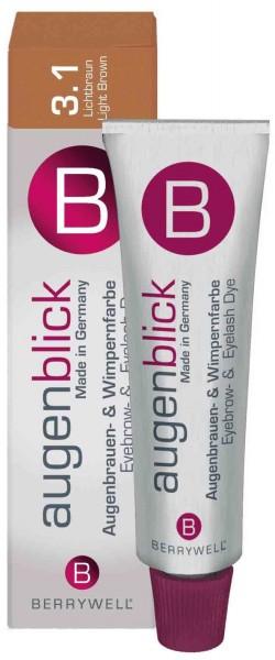Berrywell® Wimpernfarbe #3.1 lichtbraun, 15 ml