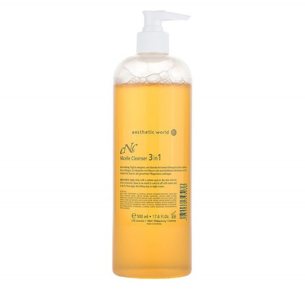 aesthetic world Micelle Cleanser 3in1, 500 ml