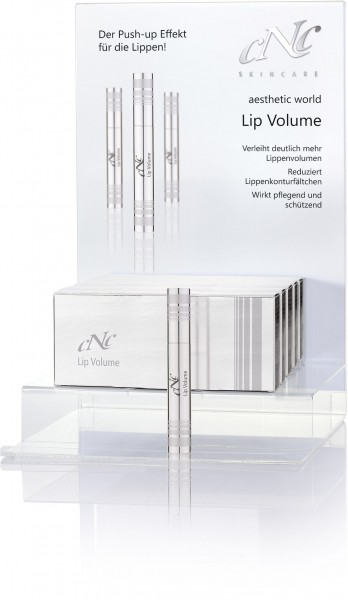 Lip Volume Display-Komplettangebot, 7 x 10 ml + 1 Tester, inkl. Display