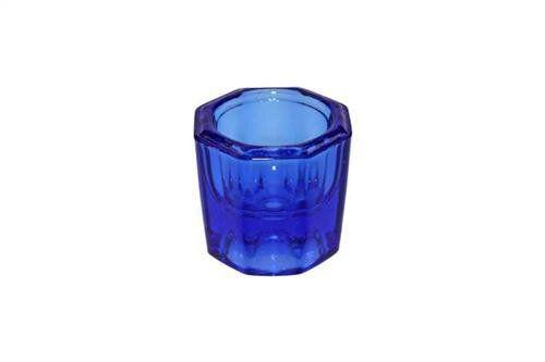 Dappenglas, blau