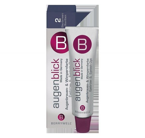 Berrywell® Wimpernfarbe #2 blau-schwarz, 15 ml