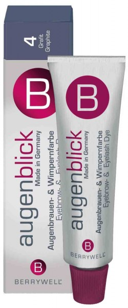 Berrywell® Wimpernfarbe #4 grafit, 15 ml