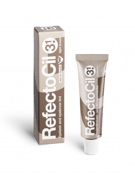 RefectoCil Wimpernfarbe #3.1 lichtbraun, 15 ml