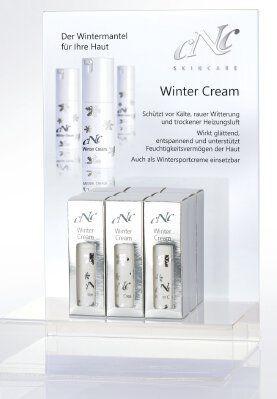 Winter Cream Display-Komplettangebot, 9 x 30 ml + 15 Setkarten