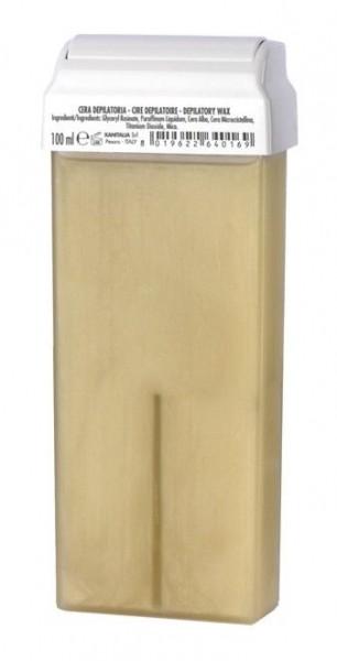 Wachspatrone, Perlmutt suntanned, 100 ml, großer Rollaufsatz