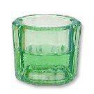 Dappenglas, grün