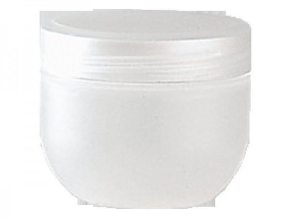 Kosmetik-Tiegel, Kunststoff natur, 50 ml